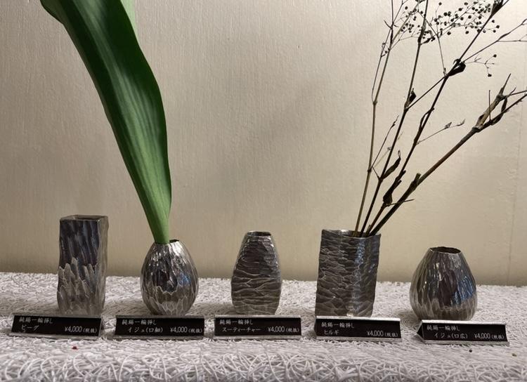 沖縄を代表する伝統工芸品、錫でつくる「金細工まつ」
