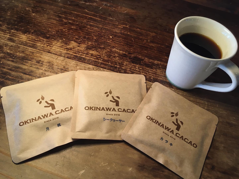 OKINAWA CACAO  沖縄の植物「月桃」「シークヮーサー」「カラキ」を使ったチョコレート